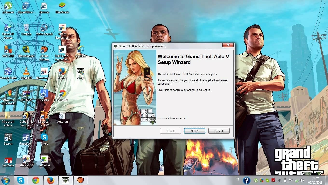 grand theft auto 5 game setup download
